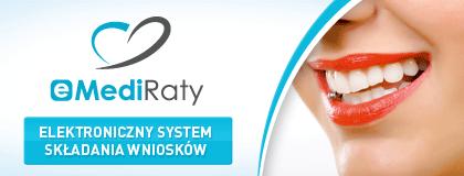 Medi Raty na usługi w gabinetach Prodental - ortodoncja, implanty, leczenie stomatologiczne, ortodonta cennik warszawa, korony porcelanowe ceny